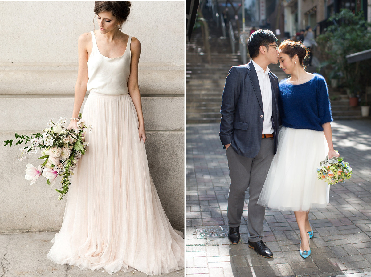 colour, wedding dress style, casual, seperate, loose, comfort, bride