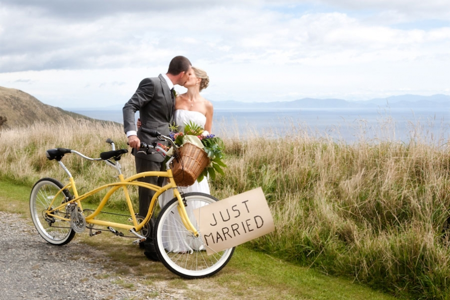 wedding bike image
